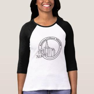 Arizona Gilbert Mission and Temple T-shirt