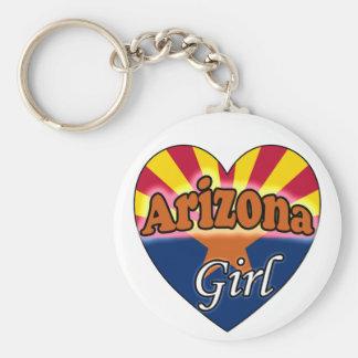 Arizona Girl Keychain