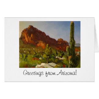 Arizona Greetings Note card