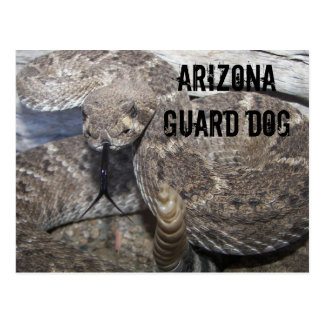 Arizona Guard Dog Postcard