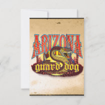 Arizona Guard Dog Snake Card