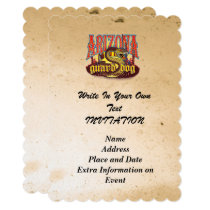 Arizona Guard Dog Snake Invitation