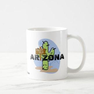 Arizona - guarde hacia fuera taza