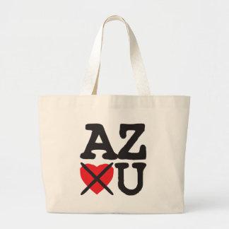 Arizona Hates You Large Tote Bag