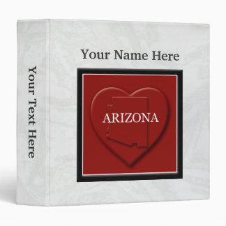 Arizona Heart Map Custom Binder