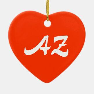 Arizona Heart Ornament