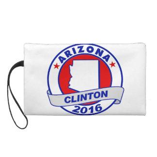 arizona Hillary Clinton 2016.png Wristlet Purse