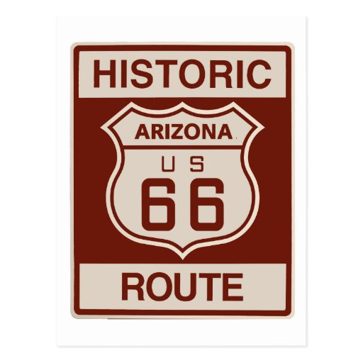 Arizona histórico RT 66 Postales