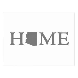 Arizona home state postcard