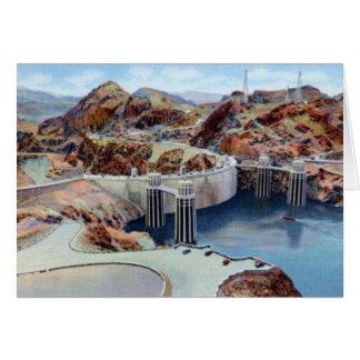 Arizona Hoover Dam and Lake Mead Card