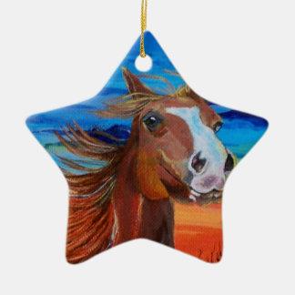 Arizona Horse Ceramic Ornament