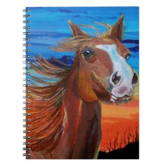 Arizona Horse Spiral Notebook
