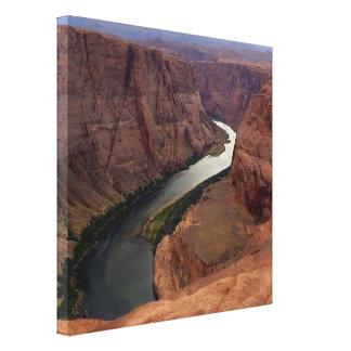 ARIZONA - Horseshoe Bend A - Red Rock Canvas Print