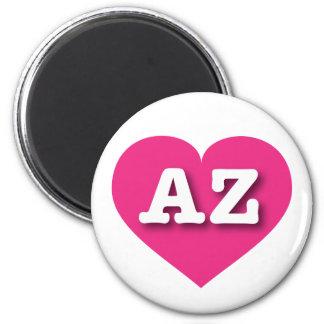 Arizona hot pink heart - Big Love Magnet