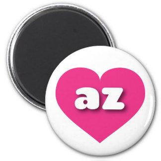 Arizona hot pink heart - mini love magnet