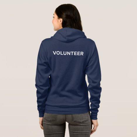 Arizona Humane Society Volunteer Zip-up Hoodie
