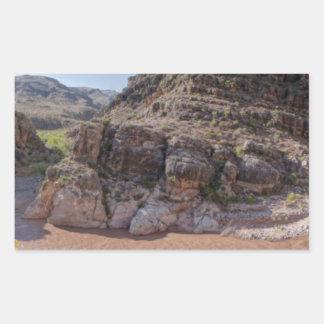 Arizona interior pegatina rectangular