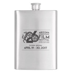 Arizona International Film Festival 2017 Flask at Zazzle