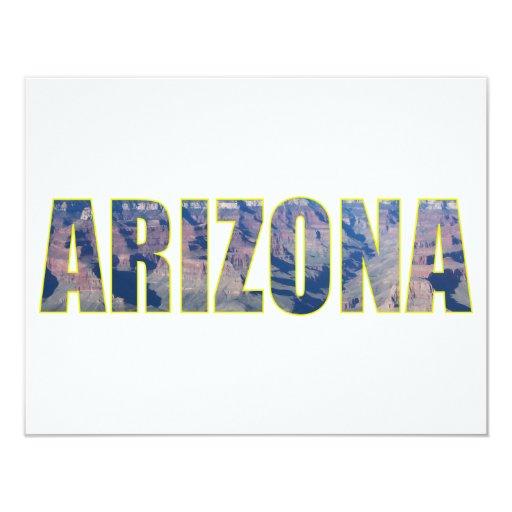 Arizona Invitación 10,8 X 13,9 Cm