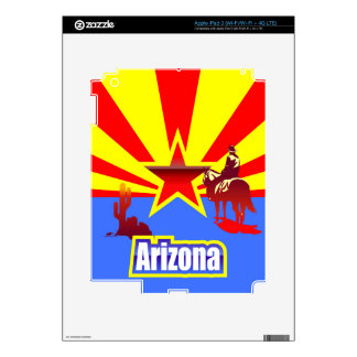 Arizona iPad 3 Decal