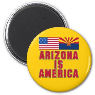 Arizona IS America Pro Arizona Tshirts 2 Inch Round Magnet