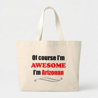 Arizona Is Awesome Large Tote Bag