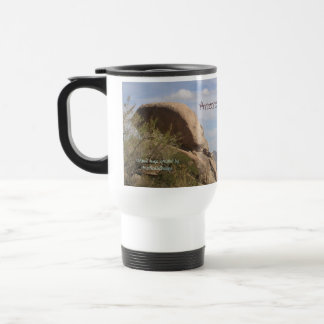 """""""Arizona is the place to be!"""" 15 Oz Stainless Steel Travel Mug"""