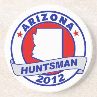 Arizona Jon Huntsman Drink Coaster