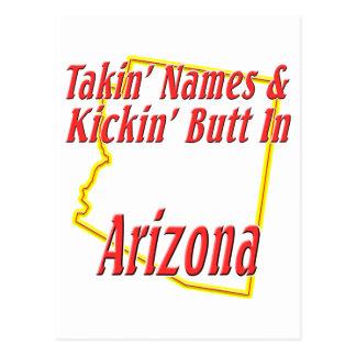 Arizona - Kickin' Butt Postcard