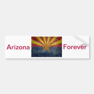 Arizona, la 48.a bandera del estado etiqueta de parachoque