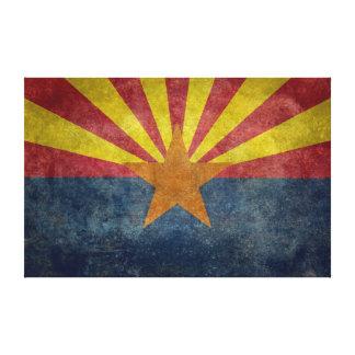 Arizona, la 48.a bandera del estado impresion de lienzo