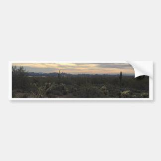 Arizona Landscape Bumper Sticker