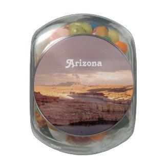 Arizona Landscape Glass Jars