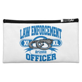 Arizona Law Enforcement Officer Handcuffs Cosmetic Bag