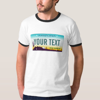 Arizona License Plate Shirt