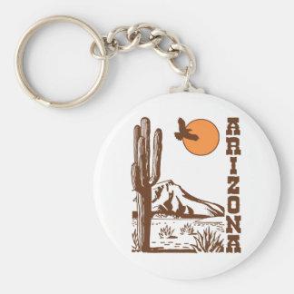 Arizona Llavero Redondo Tipo Pin