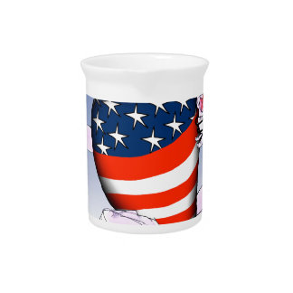 arizona loud and proud, tony fernandes beverage pitchers