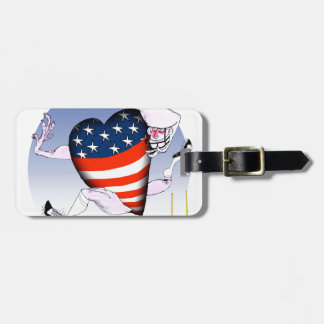 arizona loud and proud, tony fernandes luggage tag