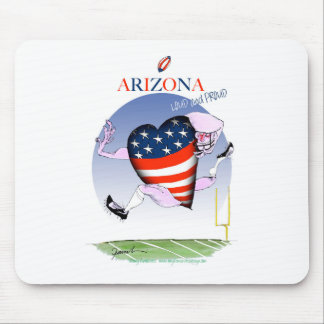 arizona loud and proud, tony fernandes mouse pad