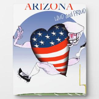 arizona loud and proud, tony fernandes plaque