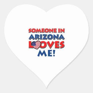 ARIZONA love designs Heart Sticker