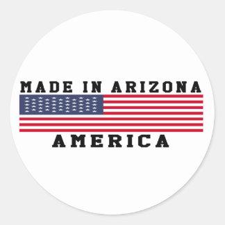 Arizona Made In Designs Classic Round Sticker