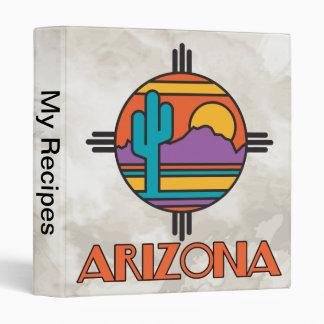 Arizona Mandella 3 Ring Binder