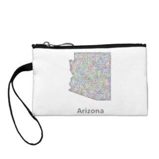 Arizona map change purse