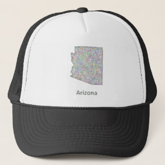 Arizona map trucker hat