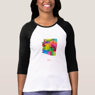 Arizona Map Tee Shirt