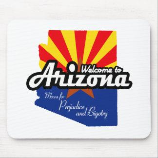 "Arizona - ""Mecca for Prejudice and Bigotry"" Mousepads"