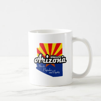 "Arizona - ""Mecca for Prejudice and Bigotry"" Classic White Coffee Mug"