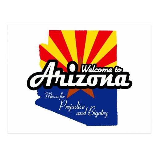 "Arizona - ""Mecca for Prejudice and Bigotry"" Postcards"