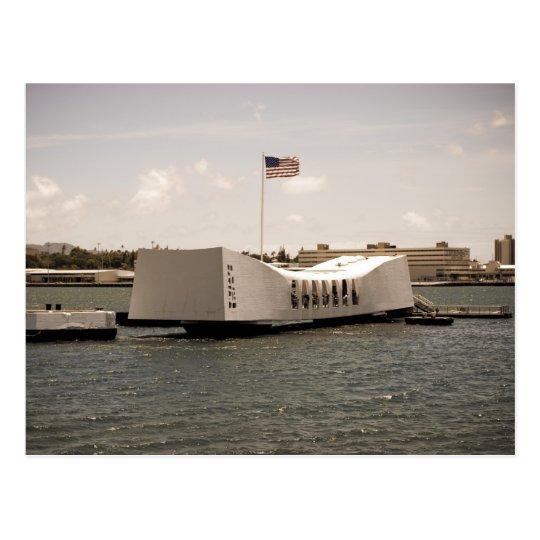 Arizona Memorial Pearl Harbor Postcard